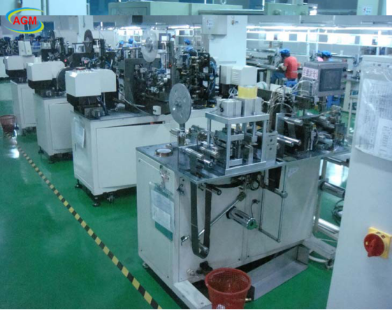 Continuous slitting machine