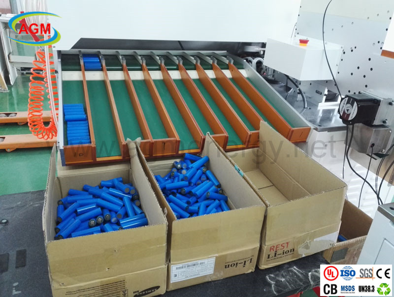 18650 battery cell automotive sorting machine